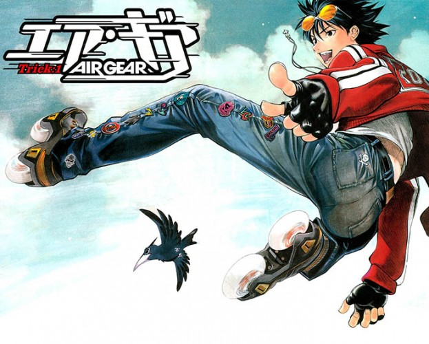Air-Gear-300x436 6 Anime Like Air Gear [Recommendations]