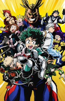 boku no hero academia visual
