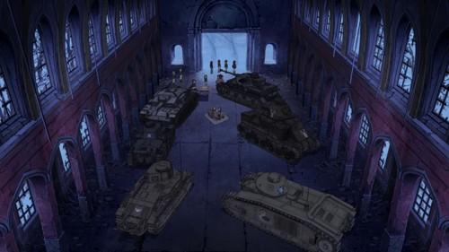 capture Girls und Panzer