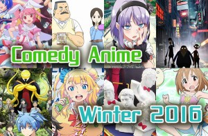 Comedy Anime Winter 2016 - Magical Girls, Office Romances and Girl Talk? Expect the Unexpected!