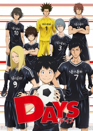 days-300x424 Days Anime 1st Cast Announcement