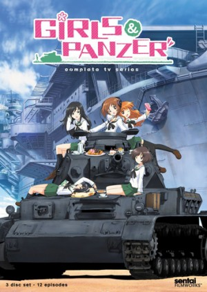 girls and panzer DVD