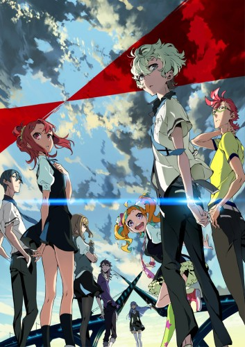 kiznaiver-wallpaper-560x315 Kiznaiver Anime Announced for Spring, Character, Cast, Staff Updated