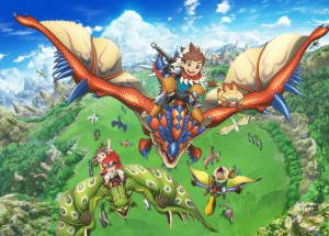 monster-hunter-stories-ride-on-key-visual-300x215 Monster Hunter Stories: RIDE ON - Fall 2016 - Winter 2018