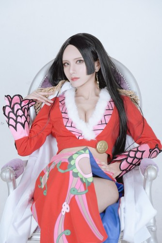one piece cosplay Hancock Boa11