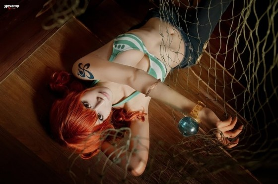 one piece cosplay nami01