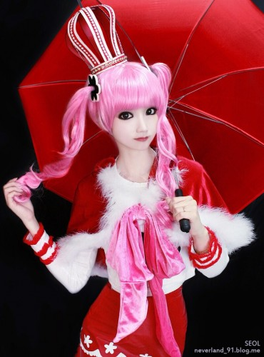 one piece cosplay perona01