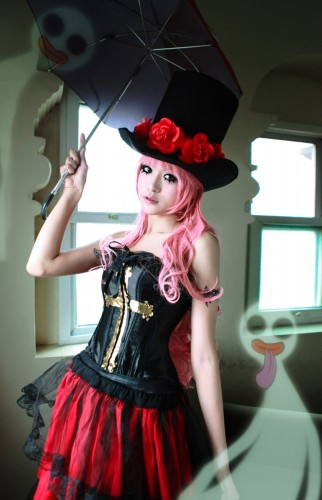 one piece cosplay perona02
