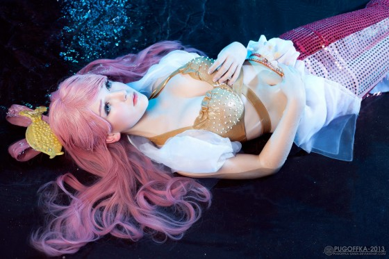 one piece cosplay princess shirahoshi06