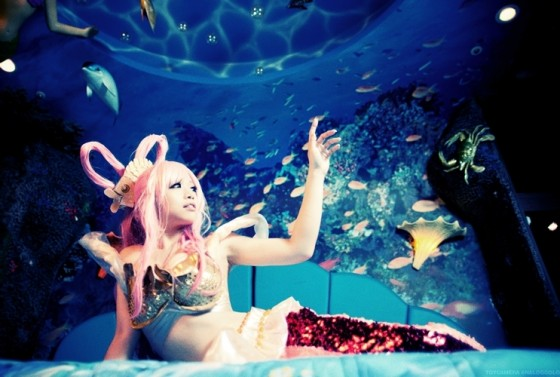 one piece cosplay princess shirahoshi07