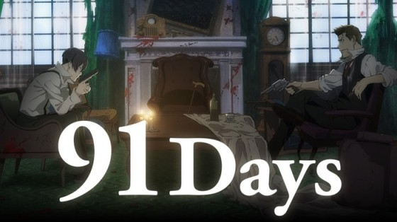 "91_days-1-560x314 Completely new anime ""91 days"" coming up in July!"