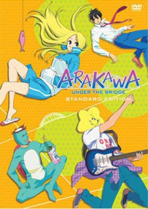 Arakawa Under the Bridge dvd