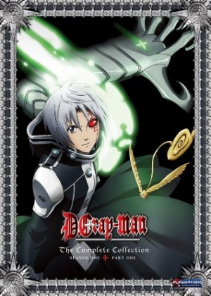 D.Gray-Man dvd
