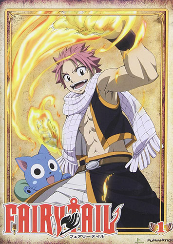 Fairy Tail dvd