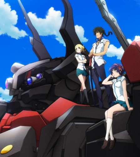 kuromukuro-wallpaper-560x343 Spring Mecha Action Anime Kuromukuro Get's a New Visual!