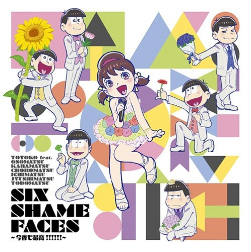 SIX-SHAME-FACES-Osomatsu-498x500 Anime Music Mondays! Oricon Anime Chart Ranking [04/18/2016]