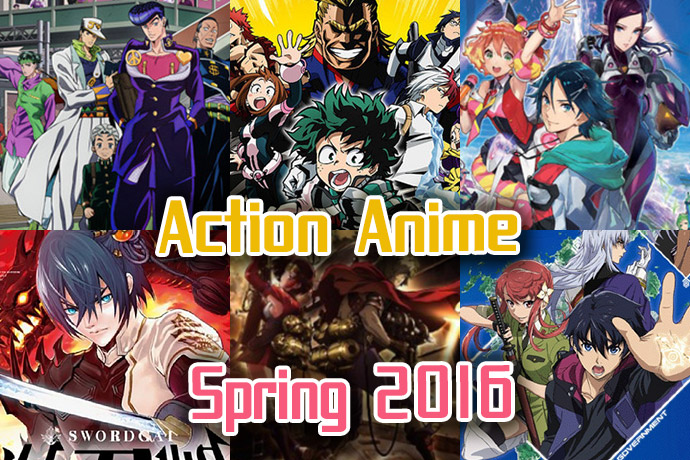 action-anime-spring-2016-eyecatch Action Anime Spring 2016 - Do some Spring Cleaning with Crazy Superhumans, Creepy Villans, Distorted Realities, & Brave Heroes!