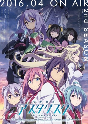 asterisk-war-2nd-season-300x424 Gakusen Toshi Asterisk 2nd Season: The Academy City on the Water - Anime Spring 2016
