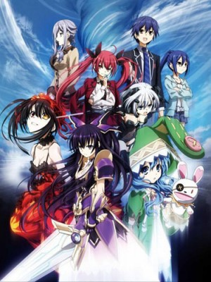 dvd-Date-A-Live-300x424 6 Anime Like Date A Live [Updated Recommendations]