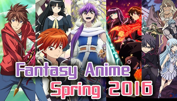 fantasy-anime-spring-2016-eyecatch-700x400 Spring 2016 Fantasy Anime - Parallel Worlds? Monsters? The Supernatural?