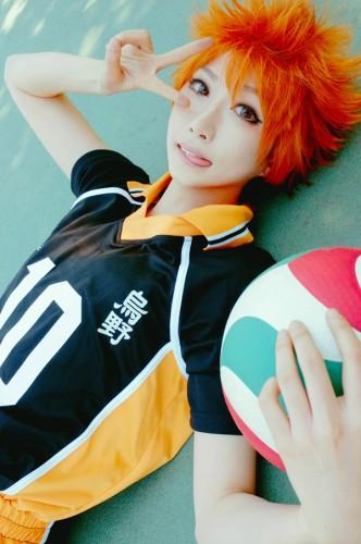 News Cosplay: Haikyuu!! Cosplay Hinata, Kageyama 01/02