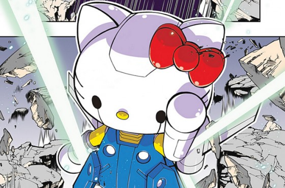 ichigo-min-560x371 Hello Kitty Gets Mecha Makeover in Official Manga