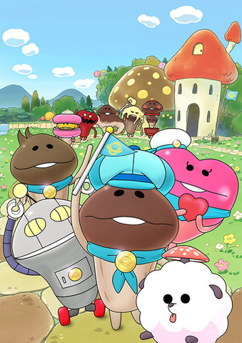 nameko-logo-560x351 Nameko: Sekai no Tomodachi Anime Announced for Spring 2016