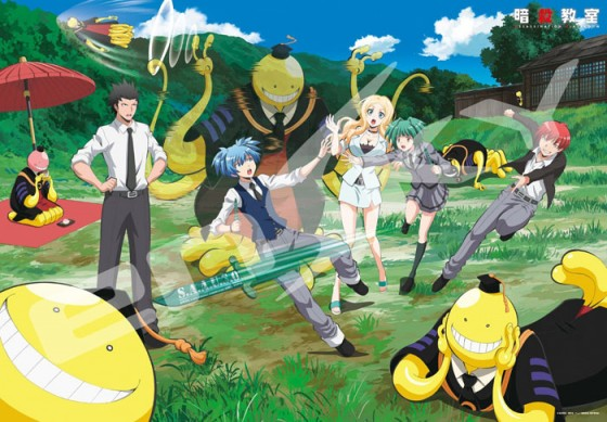 Assassination-Classroom-Wallpaper-560x389 Ansatsu Kyoushitsu The Movie Reveals Key Visual and Plot Teaser!