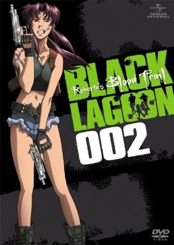 BLACK LAGOON Roberta's Blood Trail dvd