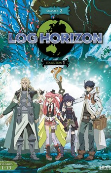 Log Horizon 2 dvd