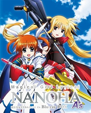 Lyrical Nanoha dvd