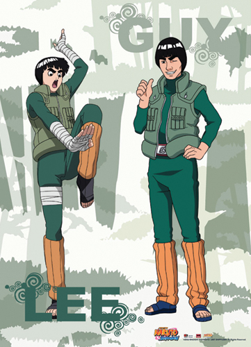 naruto rock lee guy wallpaper