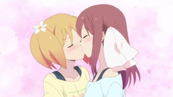 sakura-trick-kiss-560x315 Top 10 Yuri Anime [Japan Poll]