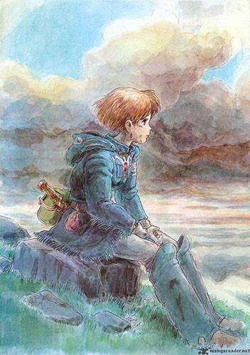 wallpaper Miyazaki Nausicaa