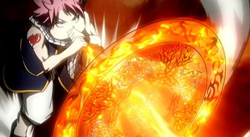1. Shouting Attacks Fairy Tail Capture