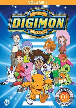 Digimon Adventure dvd