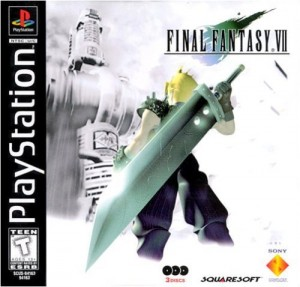 Final Fantasy 7 game dvd