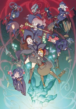 Little Witch Academia dvd