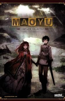 Maoyuu Maou Yuusha dvd