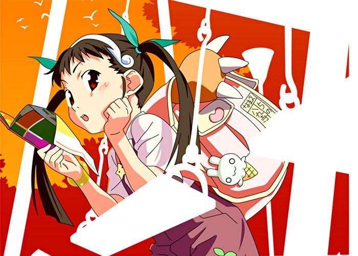 Mayoi Hachikuji Bakemonogatari wallpaper