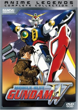 Mobile Suit Gundam Wing dvd