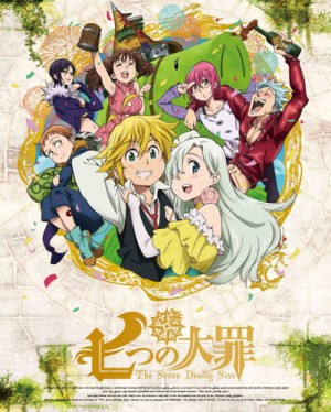 Nanatsu-no-Taizai-dvd-300x374 Nanatsu No Taizai Review & Characters – A real sin... can't be erased (The Seven Deadly Sins)