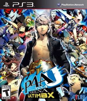 Persona 4 Arena Ultimax game dvd