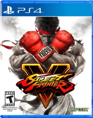 Street Fighter V game dvd
