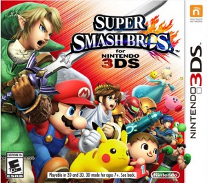 Super Smash Bros game dvd
