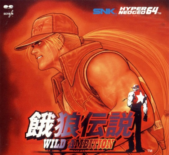 Terry Bogard King of Fighters Wallpaper