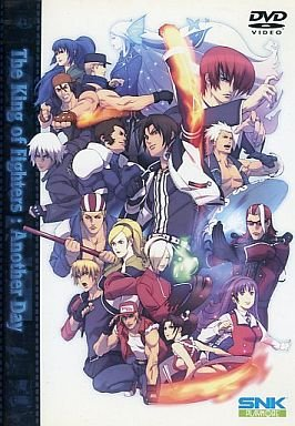 The-King-Of-Fighters-Another-Day-dvd 6 Anime like King of Fighters: Another Day [Recommendations]