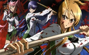 highschoolofthedead-wallpaper3-700x393 Highschool of the Dead Review & Characters - Protecting a man's pride... is a woman's duty