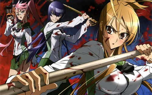 Top 10 Kickass High School Of The Dead Characters