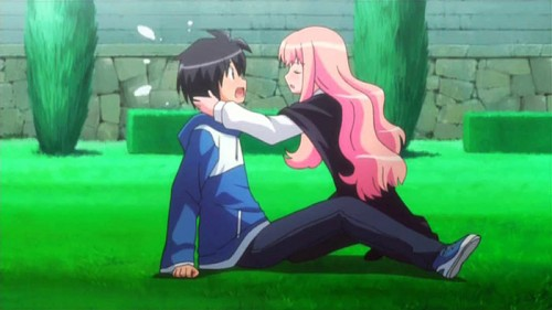 wallpaper-Zero-no-Tsukaima 5 Reasons why Saito and Louise are Our Dearest Comical Tsundere Heroes